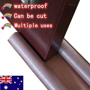 Door Bottom Sealing Strip Guard Wind Dust Threshold Seals Draft Stopper Br_BI
