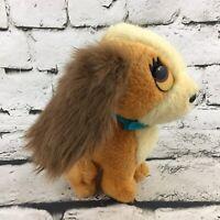 Vintage Disney Lady And The Tramp Plush Cocker Spaniel Stuffed Animal Toy Dog
