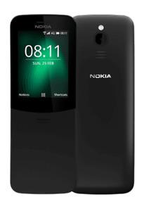 Nokia 8110 4G - 4GB - Black (Sbloccato) (Dual SIM)