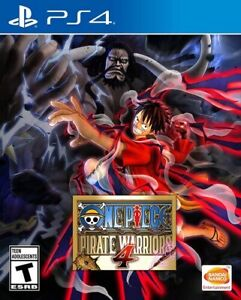 One Piece: Pirate Warriors 4 - PS4 (Brand New) UNOPENED) Factory Sealed