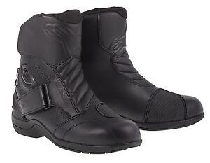 10% OFF Alpinestars GUNNER Black Waterproof Motorbike/Scooter Short Boots