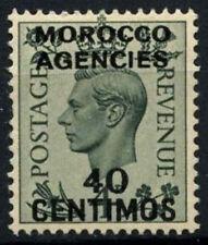 Morocco Agencies 1937-52 SG#159, 40c On 4d Grey-Green KGVI MH #D47478