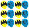 "BATMAN Printed Latex Balloons Birthday Decoration Party Supplies Favors 12""/12ct"