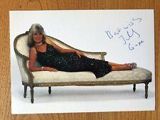 Jilly Cooper author 4x6 colour signed autographed photograph