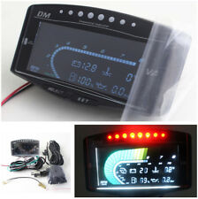 LCD Integrated Voltmeter/Turbo Boost / Water Temp/RPM / Fuel/ Oil Pressure Gauge