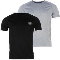 Jack & Jones Herren Fitness T-Shirt Laufshirt Rundhals Shirt Grau L XL XXL JJ