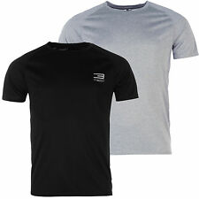 Jack&Jones Hombre Fitness Camiseta Running de Cuello Redondo Gris L XL XXL Jj