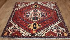 OLD WOOL HAND MADE PERSIAN ORIENTAL FLORAL RUNNER AREA RUG CARPET 247 X 180 CM
