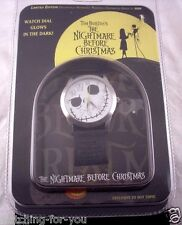Hot Topic Limited Edition Disney Nightmare Before Christmas Wrist Watch In Tin