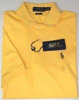 Polo Ralph Lauren Yellow Short Sleeve Shirt Mens Classic Fit Cotton NWT NEW $89