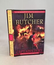 Captain's Fury-Jim Butcher-SIGNED!!-TRUE First/1st Edition-Bk 4 Codex Alera-RARE