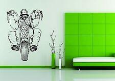 Wall Car Decor Vinyl Sticker Decal Art Biker Bike Harley Motorcycle