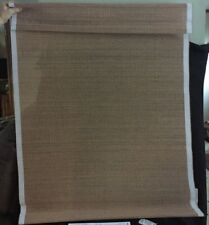 """Hensley Country Curtains 32"""" Bamboo Cordless Roman Shade White 481075 32 Wh"""