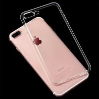 For iPhone 7 Plus Ultra-Thin Clear Soft Silicone TPU Gel Transparent Case Cover
