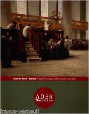 Catalogue vente Peinture Moderne Ecole de Paris Peintre Juif Judaica Lewitzka