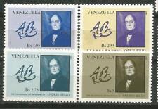 Venezuela Scott #1271-1274 MNH Statesman Andrews Beautiful 1979