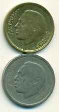 2 COINS from MOROCCO - 20 SANTIMAT & 1 DIRHAM (BOTH DATING 1974)