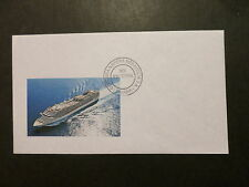 mv MSC Divina . Stamped On Board Italy Cruise Ship Ltd Edition Postal Cover Boat
