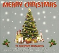 MERRY CHRISTMAS 75 CHRISTMAS FAVOURITES ON 3 CD'S - BABY ITS COLD OUTSIDE & MORE