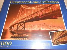 puzzle fluorescent 1000 pièces SAN FRANCISCO PONT - sous blister