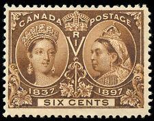 momen: Canada Stamps #55 Mint OG Jubilee VF/XF