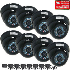 8x IR Dome Security Camera Infrared Day Night Vision CCTV Outdoor Wide Angle m7i