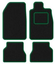Skoda Superb II 08- Velour Black/Green Trim Car mat set