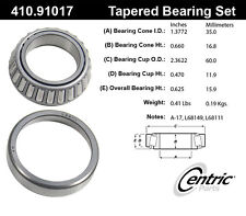 Centric Parts 410.91017 Front Inner Bearing Set