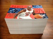 Michael Jordan Fleer Ultra 1995 Basketball Fabulous Fifties Investor Lot of 100