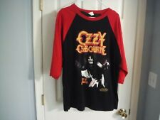 Ozzy Osbourne Diary Of A Madman T shirt 3/4 Sleeve XL