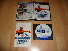 KNOCKOUT KINGS 2001 BOXEO DE EA SPORTS PARA LA SONY PS2 USADO COMPLETO