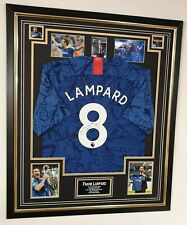 Frank Lampard Signed Chelsea Shirt Autographed Jersey Display & AFTAL DEALER COA