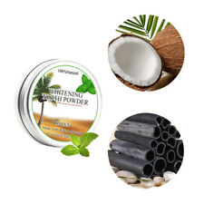 Activated Charcoal Powder Coconut Shell Tooth Teeth Whitening Toothpaste Stains