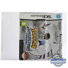Protector de la caja del juego Pokemon Soulsilver & HeartGold Nintendo DS 0.5mm Estuche de plástico