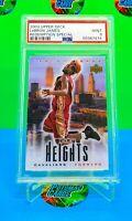 2003 LeBron James Rookie Card Upper Deck City Heights PSA 9