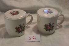 Nice Victorian Trading Co. tea set cups mug with ceramic lid