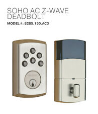 Baldwin AC Z-WAVE DEADBOLT Keyless Electronic - Satin Nikel Mode # 8285.150.AC3