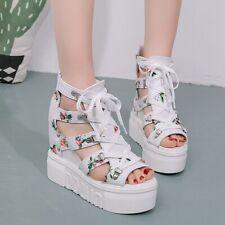 Women Wedges Shoes 2020 Zapatos De Mujer Summer High Heel Platform Sandals NEW