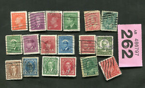 Set  Stamps of  Canada