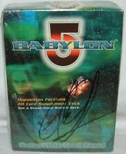 BABYLON 5 : Collecatible Card Game, signed by Claudia Christian (XP)