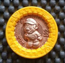 Super Mario RPG Coin Vintage 1995 Nintendo Bandai [MARIO BRONZE ] RARE Medal