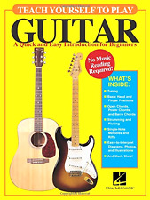 Play Guitar Self Teaching Lesson Book How to Play a Guitar for Beginners New