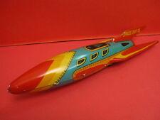 ALL ORIGINAL MASUDAYA SPACE SHIP X-5 ROCKET FRICTION SPACE TOY ROBOT 1950