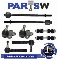 8 Piece Kit Ball Joints Sway Bar Ends Tie Rod Ends for Buick Chevy Pontiac Aztek