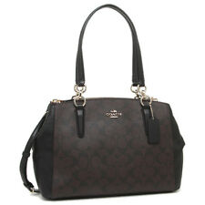Coach F58291 IMAA8 Mini Christie Black Camo Carryall Signature HandBag NEW