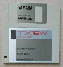 Yamaha tx16w Sampler Original OS