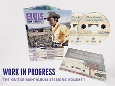 Elvis Collectors 2 CD - Work In Progress The Guitar Man Album Sessions Vol 1