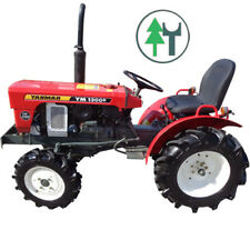 Kleintraktor Allrad Traktor Yanmar YM1300D neu lackiert komplett überholt