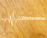 N PERFORMANCE Herzschlag Aufkleber Sticker Puls OEM Heartbeat i30n Tuning Decal