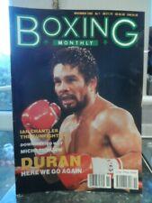 Boxing Monthly Magazine, No 7, ROBERTO DURAN, NUNN, Fab condition.